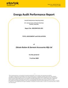 20200117 - No Expiry - Energy Audit Performance Report - Intertek-01